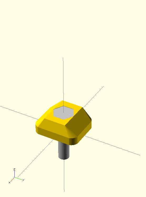 t-nut assembled