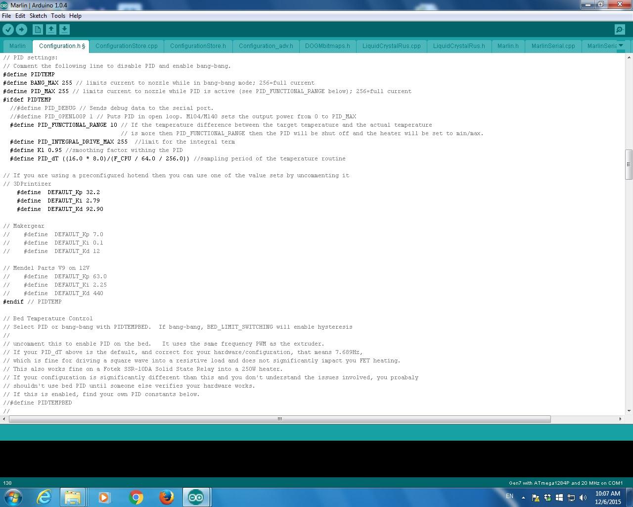 Pid Code Arduino