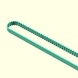 Belt 650 mm